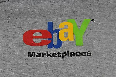 "Large Gray Ebay Marketplaces ""Keep Austin Weird"" t shirt"