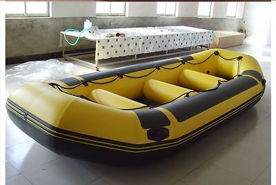 Whitewater Raft Inflatable Camping Fishing Sports Adventure River Water Boat Pro