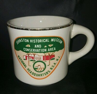 Vtg BSA Johnston Historical Museum Conservation Area Nat HQ Boy Scout Coffee Cup