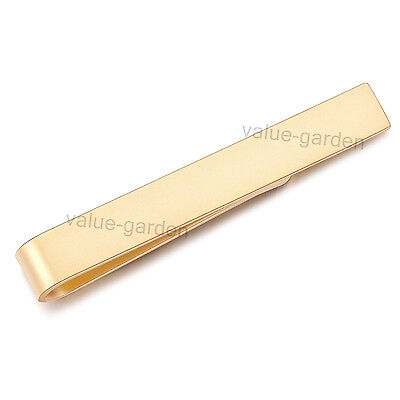 Honey Bear Mens Tie Clips Bar Gold Business Wedding Chirstmas Birthday Gift