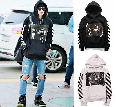 New Off White C/O Virgil Abloh Pyrex Vision S/S religion Sweater Hoodie