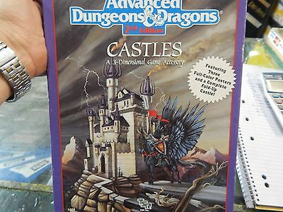 Advanced Dungeons & Dragons  Castles - a 3 Dimensional game accessory
