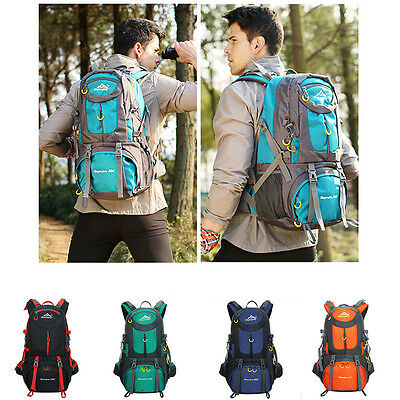 50L Outdoor Sport Backpack Bag Luggage Camping Climbing Hiking Travel Waterproof