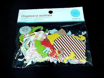 Martha Stewart Crafts Chipboard Animals Scrapbook Embellishments Shapes