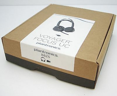 Plantronics Voyager Focus UC B825 Bluetooth Wireless Office Headset - No Stand