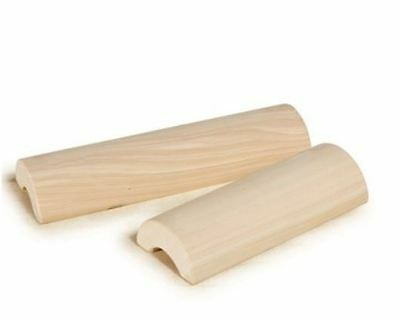 Hinoki Cypress Wooden Pillow Neck Relaxing Streching for cervical spine