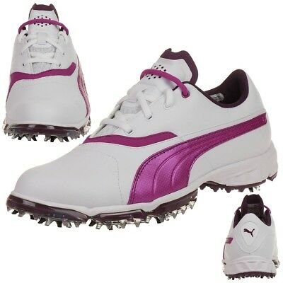 Puma BioPro Damen Golfschuhe Golf 187588 05 Waterproof Spikes