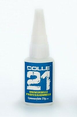 COLLE 21  21g  Colle pour maquette  Cyanoacrylate 21 g