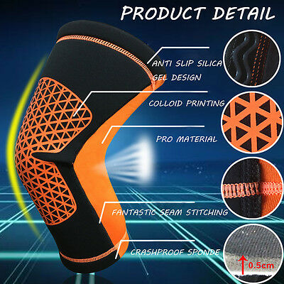 Knee Compression Brace Support Neoprene Protective Gear Guard Strap Wrap UKMES