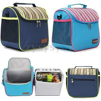 New Insulated Cooler Picnic Thermal Portable Waterproof Lunch Carry Storage Bags