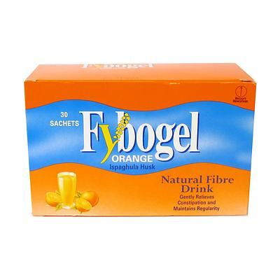 Fybogel Orange Natural Fibre Drink (2x30) Sachets x 60