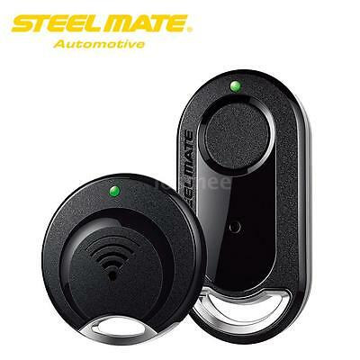 Multiuse Steelmate TrackMate Bluetooth 2-way Car Alarm GPS Tracker System B7W4
