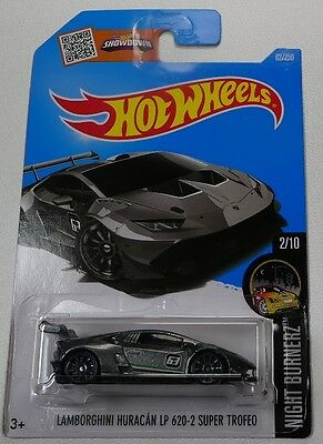 2016 hot wheels lamborghini huracan lp 620 2 super trofeo vhtf aud p. Black Bedroom Furniture Sets. Home Design Ideas