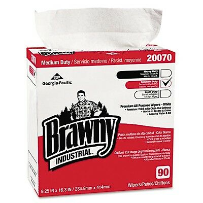 Brawny Industrial Medium-Duty Premium Wipes - 2007003CT
