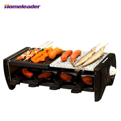 BRAND NEW HOMELEADER Electric Grill Portable Indoor Non Stick Barbecue Smokeless