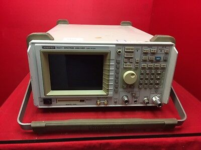 ADVANTEST 100Hz-26.5GHz Spectrum Analyzer R3271 W/TRACKING ANALYZER S/N 15050408