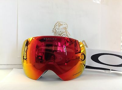 MASCHERA OAKLEY DA SCI-SNOWBOARD FLIGHT DECK 7050-35 white  PRIZM torch