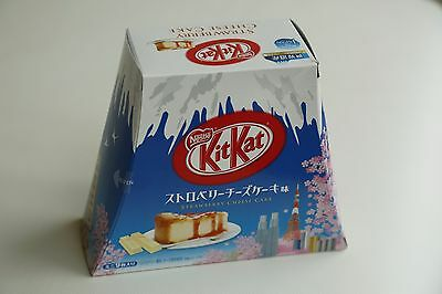 Nestle KitKat JAPAN Strawberry Cheesecake Special Edition Mt. Fuji KIT KAT 01/17