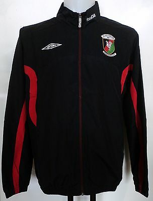 Glentoran Black Track Jacket By Umbro Adults Size Large Brand New With Tags