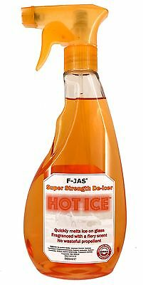 De-Icer FASTEST HOT ICE Exothermic Melts Ice Instantly With Heat ECO-FRIENDLY