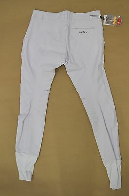Animo MINUT/W14 White Mens Breeches M IT48 UK38 US38 BNWT Fast Shipping