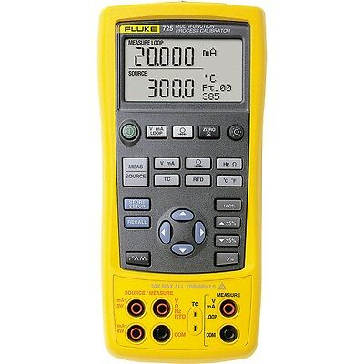 Fluke 725 Multi-Function Process Calibrator. Measures Volts, mA, RTD's & More!