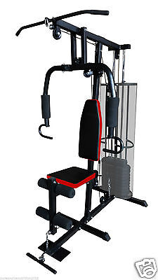 Home Fitness Multi Gym Bench Utility Strength Equipment Weights Machine