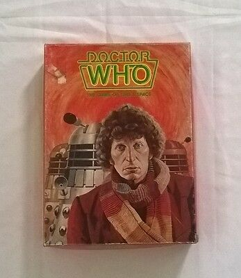 Doctor Who - The Game of Time and Space Games Workshop 1980 Tom Baker