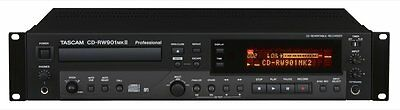 Tascam CD-RW901MKII Professional Features Packed CD Recorder / Player Rackmount