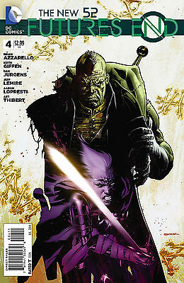 Futures End #4 Dc Comics  The New 52 Vf