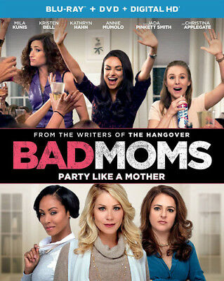 Bad Moms [New Blu-ray] With DVD, UV/HD Digital Copy, 2 Pack, Digitally Mastere