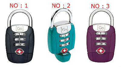 Go Travel TSA Twist 'n' Set Lock - Combination Lock
