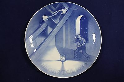 1934 Bing and Grondahl Porcelain Christmas Plate 'Church Bell in Tower' MELCHIOR