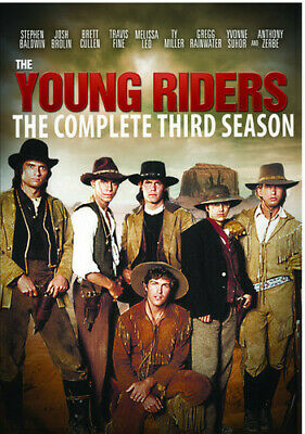 The Young Riders: The Series: Seasons 1, 2 & 3 [New DVD] Manufactured On Deman