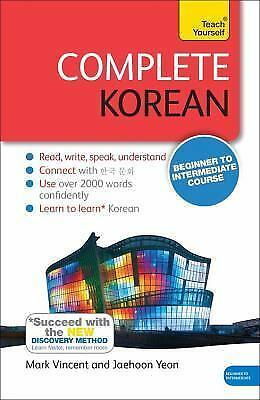 Complete Korean Beginner to Intermediate Course: Learn to read, write, speak and