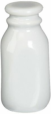 White Porcelain Creamer with Lid - 8 ounce