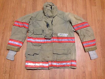 Cairns RS1 Firefighter Turnout Bunker Jacket 42 Chest x 32 Length 2004