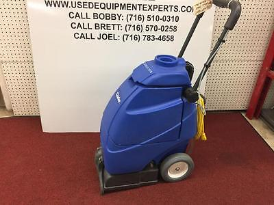 New Clark Clean Track 12 Commercial Carpet Extractor Floor Scrubber & Cleaner