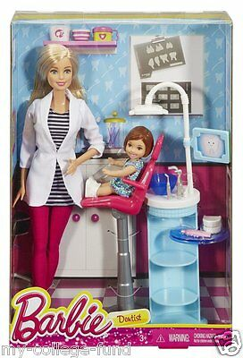 Barbie I can be Dentist Careers Doll New DHB63