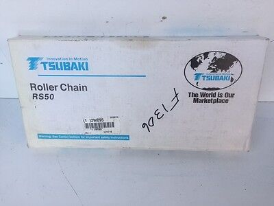 New Old Stock Tsubaki Roller Chain Rs50 New In Box