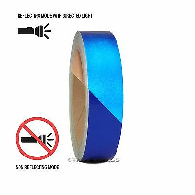"1 Roll Blue 1"" x 30 feet Reflective Engineering Grade Tape Pinstripe"