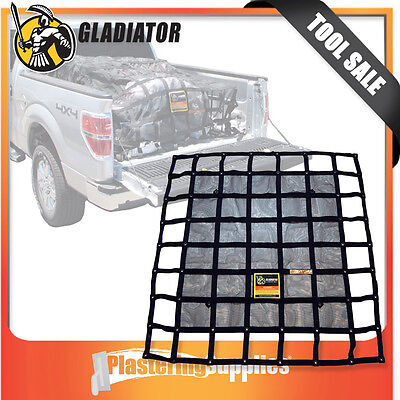 Gladiator Cargo Net LARGE Dual Extended Ute Bed Tray-Backs and Trailers LGN-300