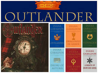 8 Audiobooks - The Outlander Complete Series by Diana Gabaldon Mp3 Unabridged  T