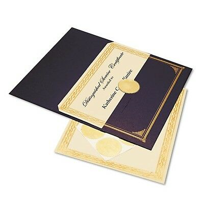 Geographics Ivory & Gold Foil Embossed Award Certificate Kit - 47481