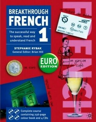 Breakthrough French 1 Euro Book and C... by Rybak, Stephanie Mixed media product