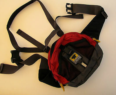NWOT Mountainsmith Cadence Lumbar Pack Red - AWESOME HIKING PACK!