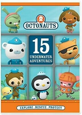 Octonauts: 15 Underwater Adventures [New DVD]