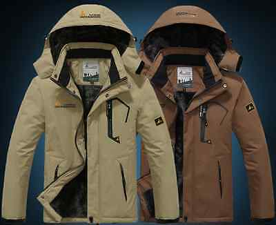 Men Outdoor Winter Ski Coat  Waterproof Jacket Warm Snowboard Jacket