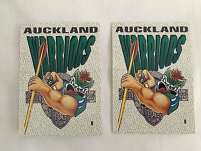 Auckland Warriors Dynamic Rugby League 1995 Series 2 Team Cards VGC