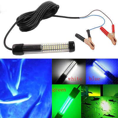 180 LEDs 12V Underwater Submersible Night Fishing Light Crappie Shad Squid Boat
